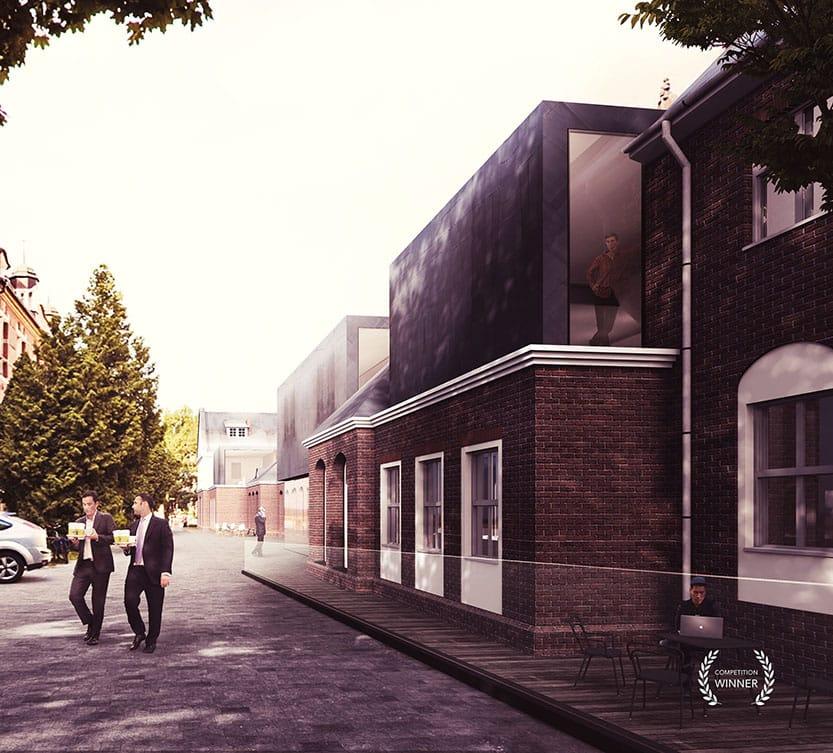 New facade visualisation of Gdansk University of Technology