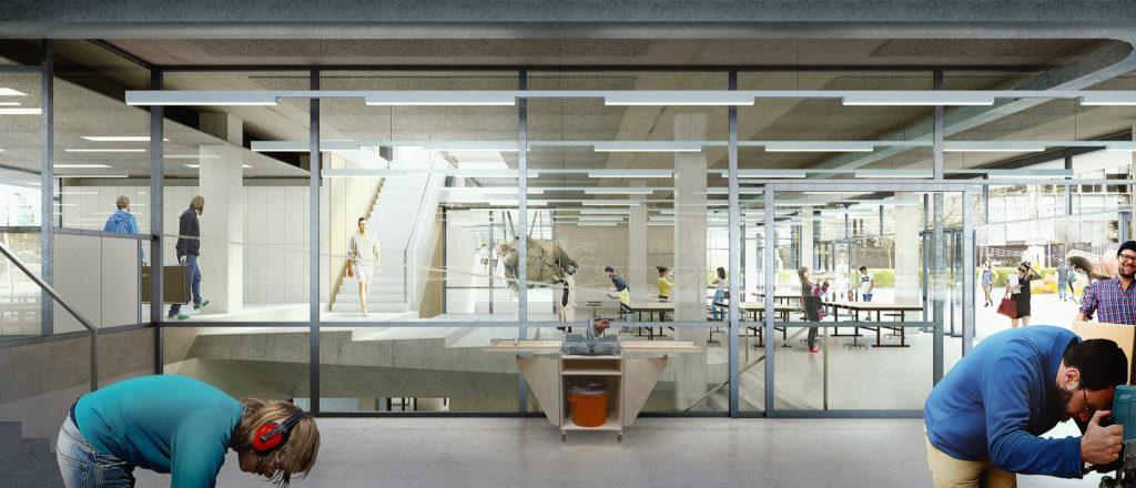 Workshop in Rietveld Academy of Arts in Amsterdam